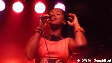 25.5.17 Würzburg Sängerin Elida Almeida aus den Kapverden bei ihrem Auftritt auf dem Africa Festival in Würzburg