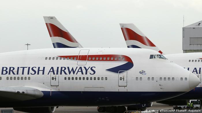 SYMBOLBILD IT-Probleme British Airways streicht alle Flüge in London (picture alliance/AP Photo/F. Augstein)