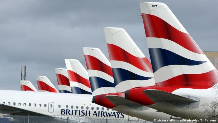 SYMBOLBILD IT-Probleme British Airways streicht alle Flüge in London