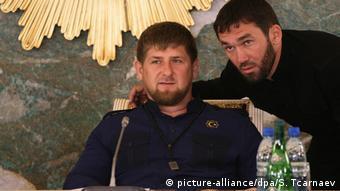 Рамзан Кадыров и Магомед Даудов