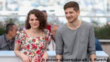 Frankreich Cannes - Kantemir Balagov, Darya Zhovner