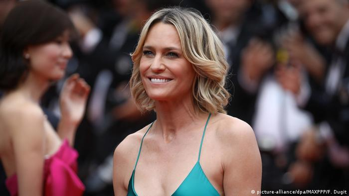 Frankreich Cannes - Robin Wright (picture-alliance/dpa/MAXPPP/F. Dugit)
