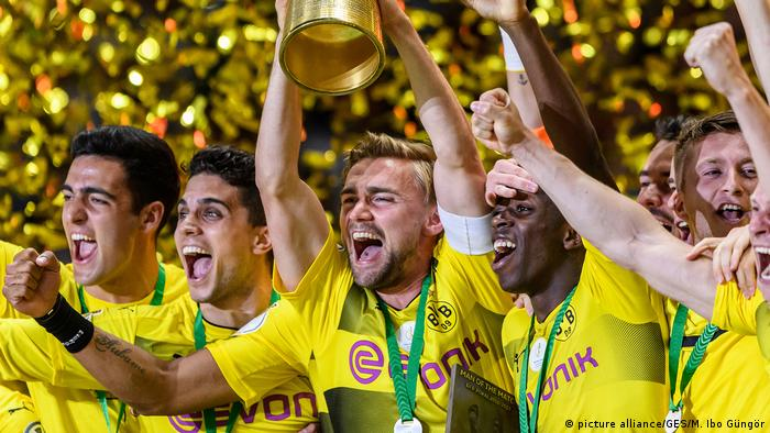 Deutschland Dortmund gewinnt den DFB-Pokal
