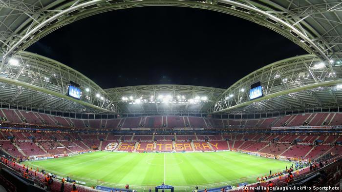 Eine Innenansicht des Stadions Türk Telekom Arena (Foto: Picture Alliance)