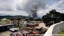 Fighting in the besieged city of Marawi