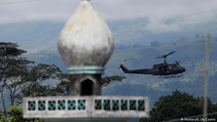Kämpfe auf Philippinen Marawi