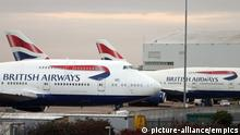 British Airways Flugzeug (picture-alliance/empics)