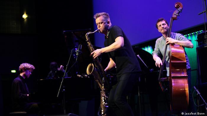Marius Nesets beim Jazzfest Bonn (Foto: Jazzfest Bonn )