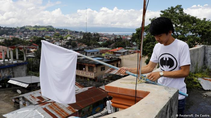 Kämpfe auf Philippinen Marawi Weiße Flagge