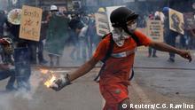 Venezuela Protest und Ausschreitungen in Caracas
