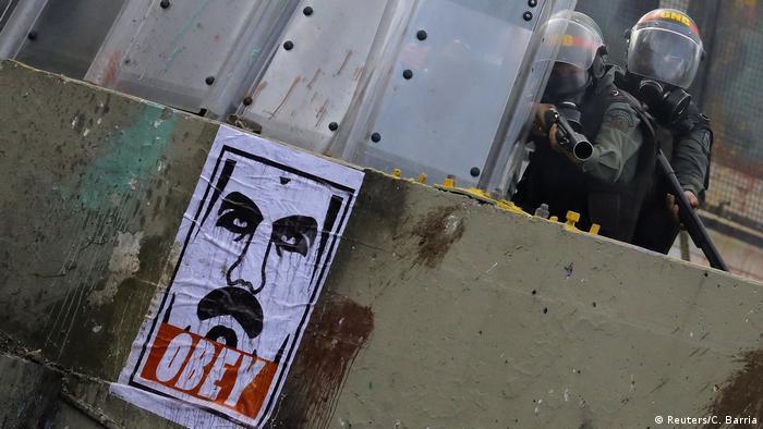 Venezuela Protest und Ausschreitungen in Caracas (Reuters/C. Barria)