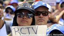 Venezuela Protest und Ausschreitungen in Caracas | Pressefreiheit