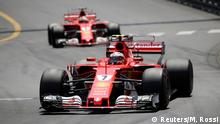 Formel 1 Monaco Grand Prix 2017 | Kimi Raikkonen vor Sebastian Vettel