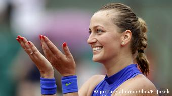 Tennis French Open Petra Kvitova (picture-alliance/dpa/P. Josek)