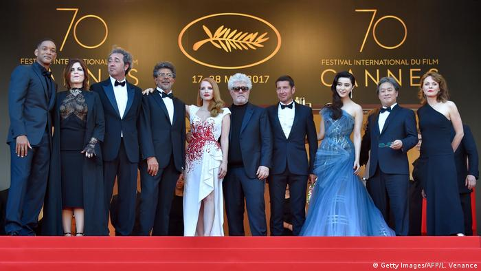 Cannes Festival Jury Abschlußzeremonie (Getty Images/AFP/L. Venance)