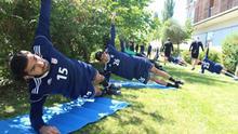 Österreich Trainingslager Iranische Fußball-Nationalmannschaft