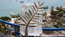 Cannes Palme d'Or Goldene Palme Trophäe (Getty Images/AFP/V. Hache)