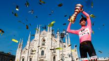 Giro d'Italia Sieger Tom Dumoulin (Getty Images/AFP//V. Nibali)