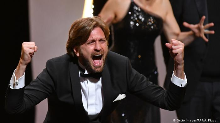 Cannes Palme d'Or Bester Film Ruben Ostlund (Getty Images/AFP/A. Pizzoli)
