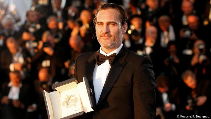 70th Cannes Film Festival - Abschlußzeremonie Joaquin Phoenix Bester Schauspieler (Reuters/R. Duvignau)