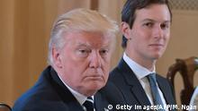 Donald Trump und Jared Kushner