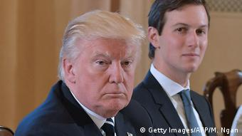 Donald Trump und Jared Kushner (Getty Images/AFP/M. Ngan)