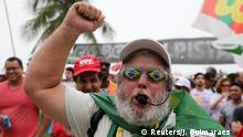 Proteste gegen Brasiliens Präsidenten Michel Temer in Rio de Janeiro