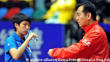China table tennis coach Kong Linghui (picture-alliance/Zuma Press/Xinhua/Lo Ping Fai)