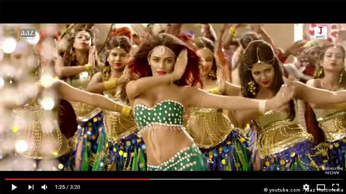 Screenshot Youtube Allah Meherbaan Item Song (youtube.com - Jaaz Multimedia)