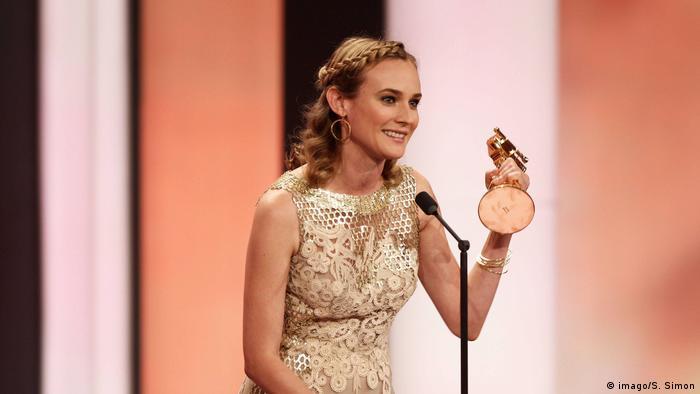 Diane Kruger erhält die Goldene Kamera (imago/S. Simon)