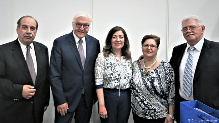 Jahrestagung Aktion Sühnezeichen in Berlin Treffen mit Bundespräsident Steinmeier (Dimitris Kostaras)