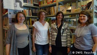 Employees of the Documenta public education team (DW/G. Reucher)
