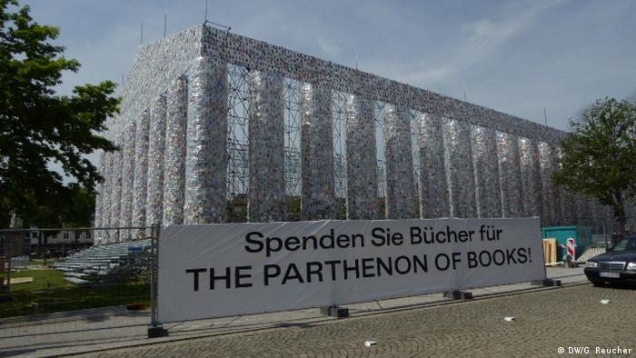 Aufbau documenta 2017 (DW/G. Reucher)