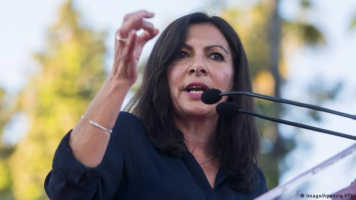 Frankreich Anne Hidalgo, Bürgermeisterin von Paris