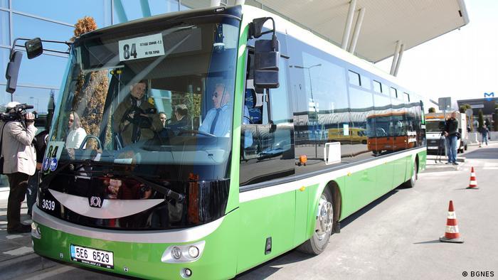 Bulgarien Flughafen Sofia Buslinie N 48