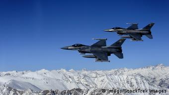Afghanistan U S Air Force F 16 Kampfjet