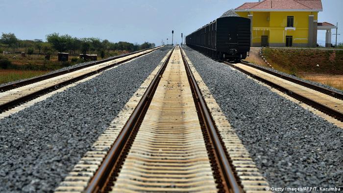 Kenia Eisenbahn Standard Gauge Railway SGR (Getty Images/AFP/T. Karumba)