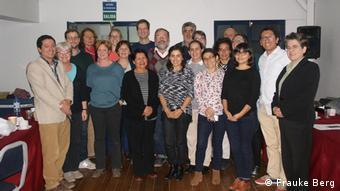 Grupo de investigadores del programa trAndes, reunidos en Cuzco, Perú. (2016).