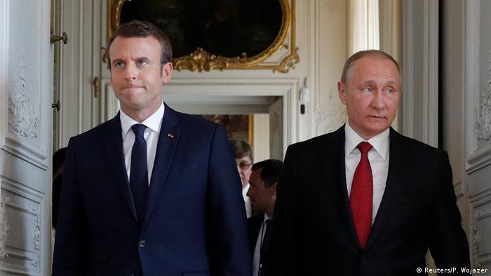 Macron'dan Putin'e: Suriye'deki nüfuzunu kullan