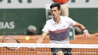 Tennis French Open Novak Djokovi (picture-alliance/AP Images/K. Yoneyama)