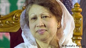 BNP chairperson Khaleda Zia at an election rally of four party alliances at the Jimkhana ground in Narayanganj. *** Mr. Mustafiz Mamun, photographer from Bangladesh, contributed these photos for Deutsche Welle. As he mentioned, ''this photo is taken by me (Mustafiz Mamun) & I permit Deutsche Welle to use it.'' ***