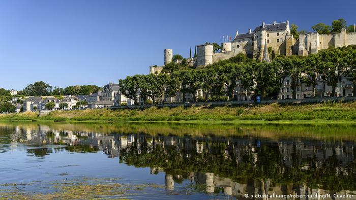 Castelo de Chinon na França