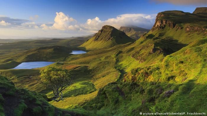 Schottland Isle of Skye (picture-alliance/blickwinkel/P. Frischknecht)