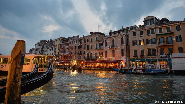 Canal Grande, em Veneza