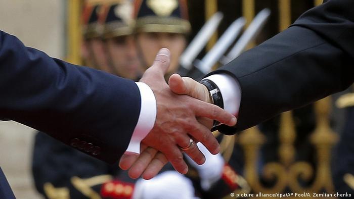 Frankreich Besuch des russischen Präsidenten Putin