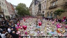 England Nach Anschlag in Manchester