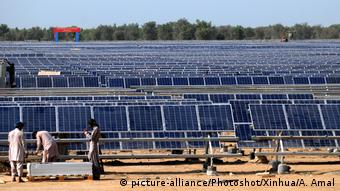 Solarenergie in Pakistan