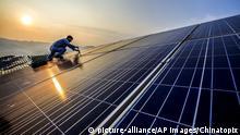 Solarenergie in Chinas Fujian Provinz