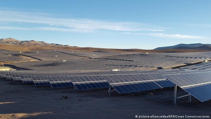 Solarenergie in Los Loros Chile
