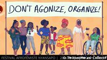 Screenshot: Twitter Mwasi-Collectif zu Afrifeminism in Paris (Twitter/Mwasi-Collectif)